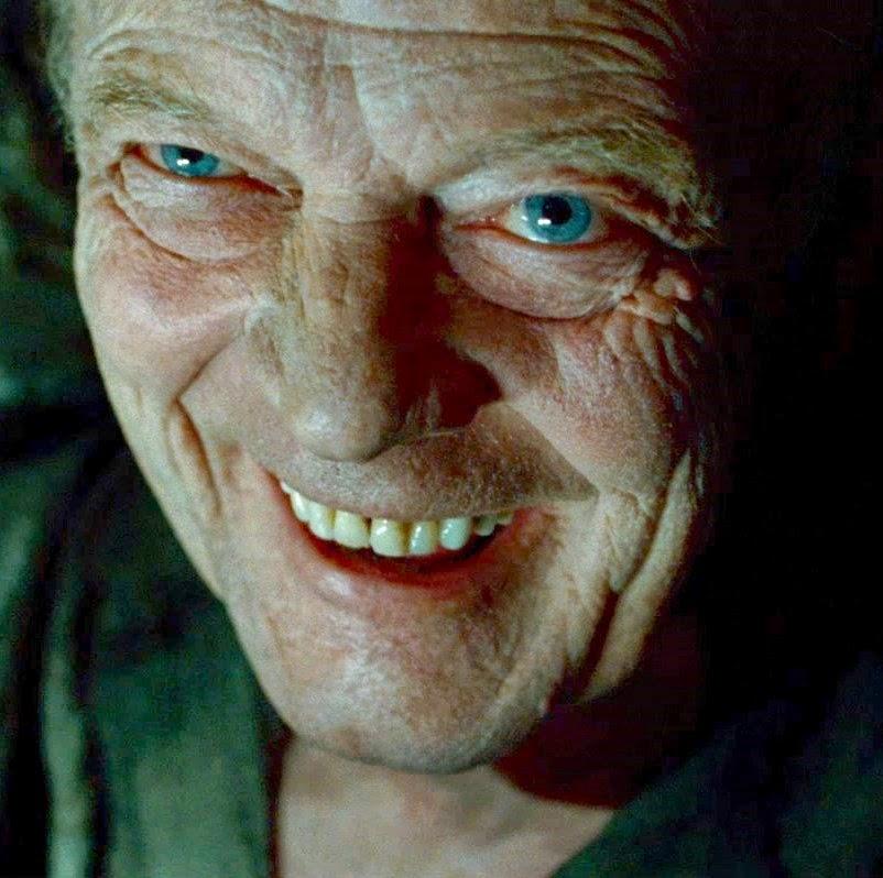 Gellert Grindewald dans Harry Potter et les reliques de la mort, partie 1, de David Yates (2010)