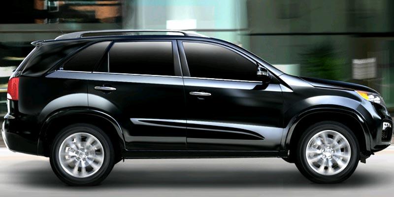 Luxury sporty classy kia sorento 2012 exterior for Kia sorento interior lights wont turn off