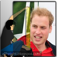 Prince William Height - How Tall