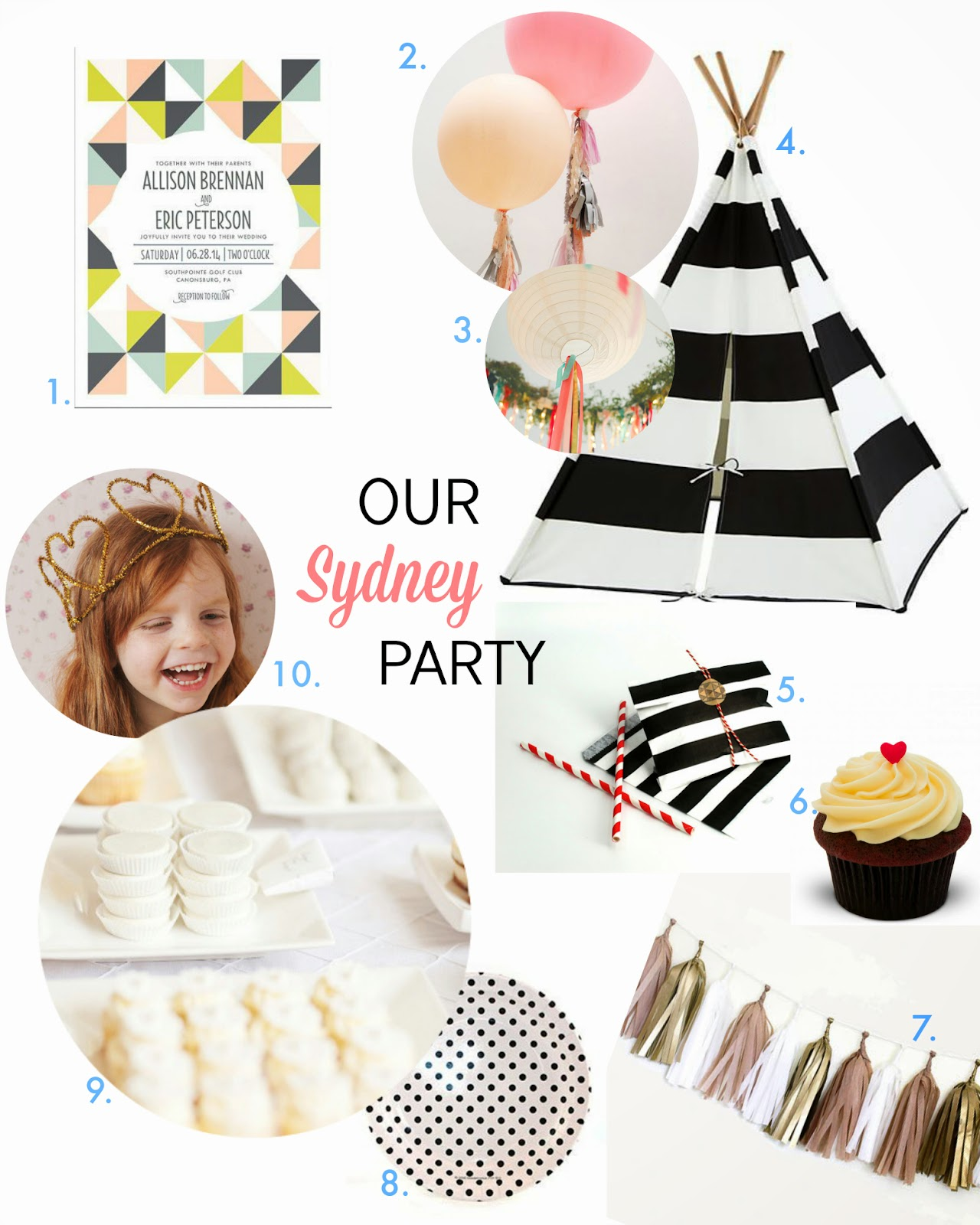 BLACK AND WHITE PARTY, BLACK AND WHITE BABY SHOWER, LAND OF NOD BLACK AND WHITE TEE PEE