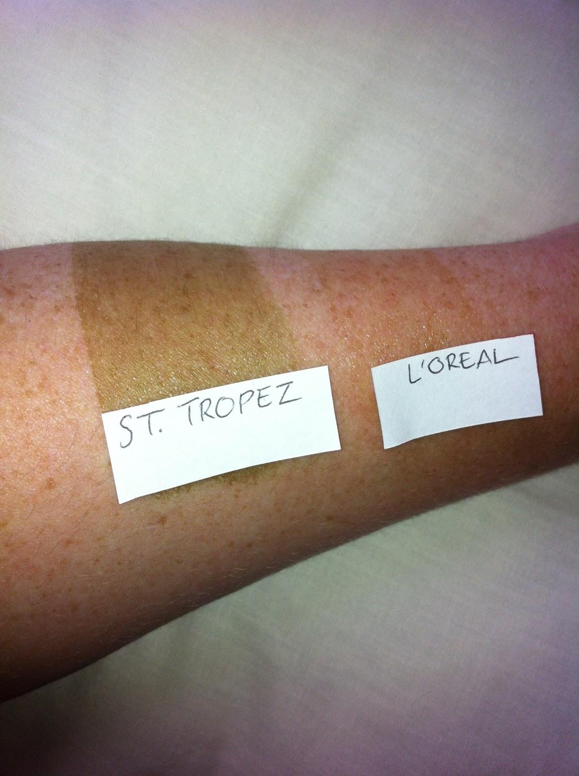 loreal sublime bronze gel test