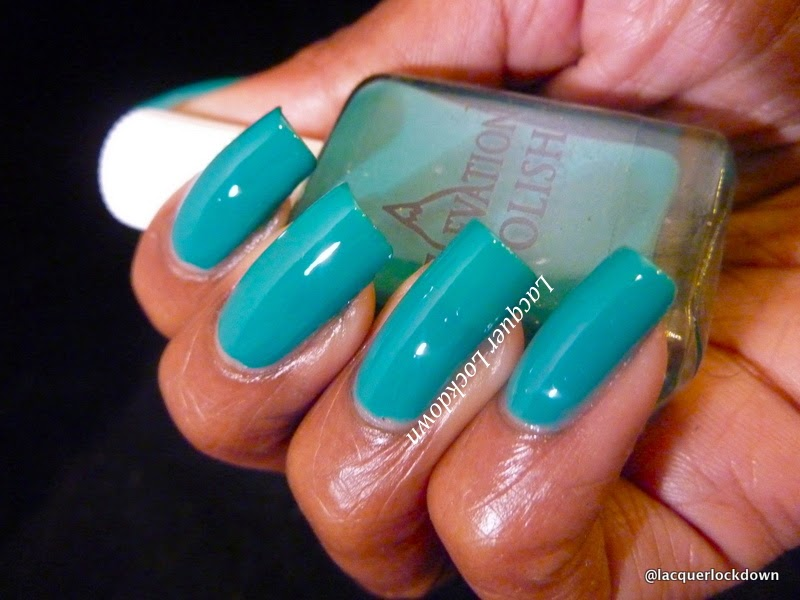 Lacquer Lockdown - elevation polish the sea collection, elevation polish ceram sea