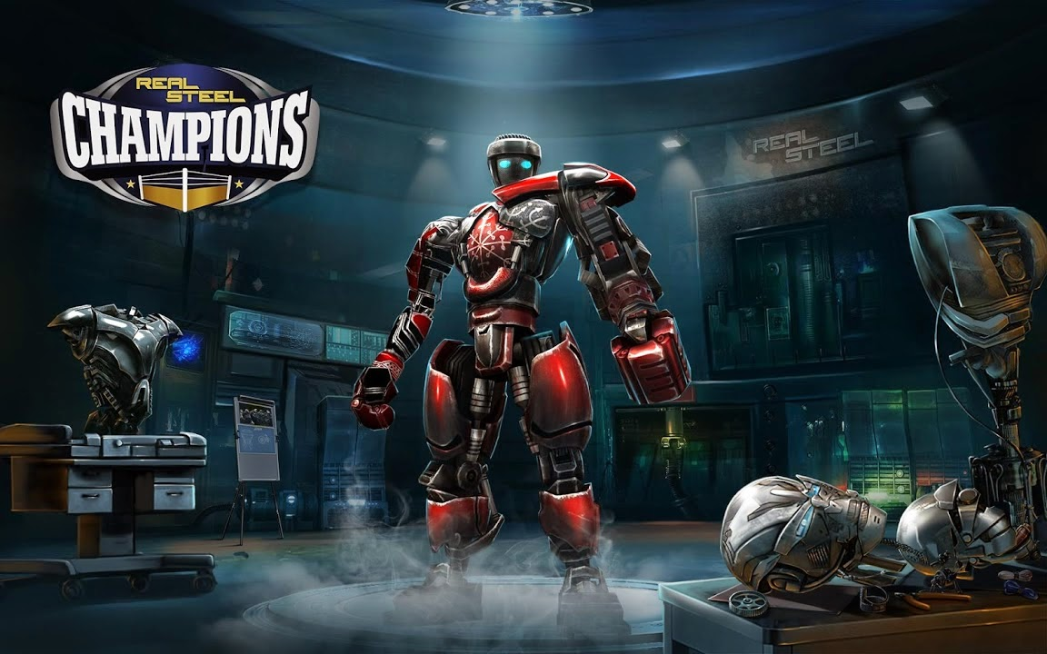 Real Steel Champions Gameplay IOS / Android