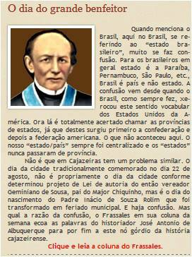 GRANDE JORNAL DO ESTADO PB HOMENAGEM  A PADRE ROLIM