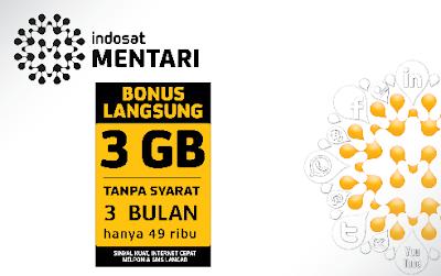 Cara Cek Sisa Kuota Internet Indosat Mentari & IM3