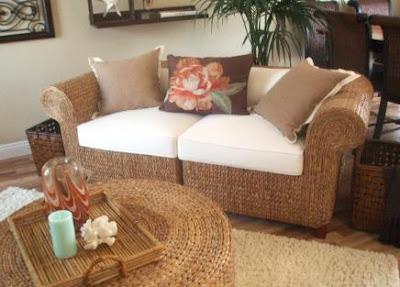 Seagrass Sofa Weather +Wicker Furniture