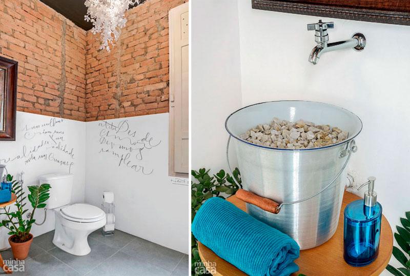 u M  u M a Banheiros incomuns! -> Pia Para Banheiro De Vidro Comercial Ramos