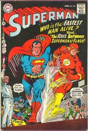 Superman #199 comic cover image