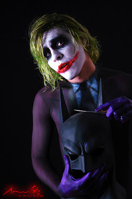 The Joker Airbrush Body Painting Photography