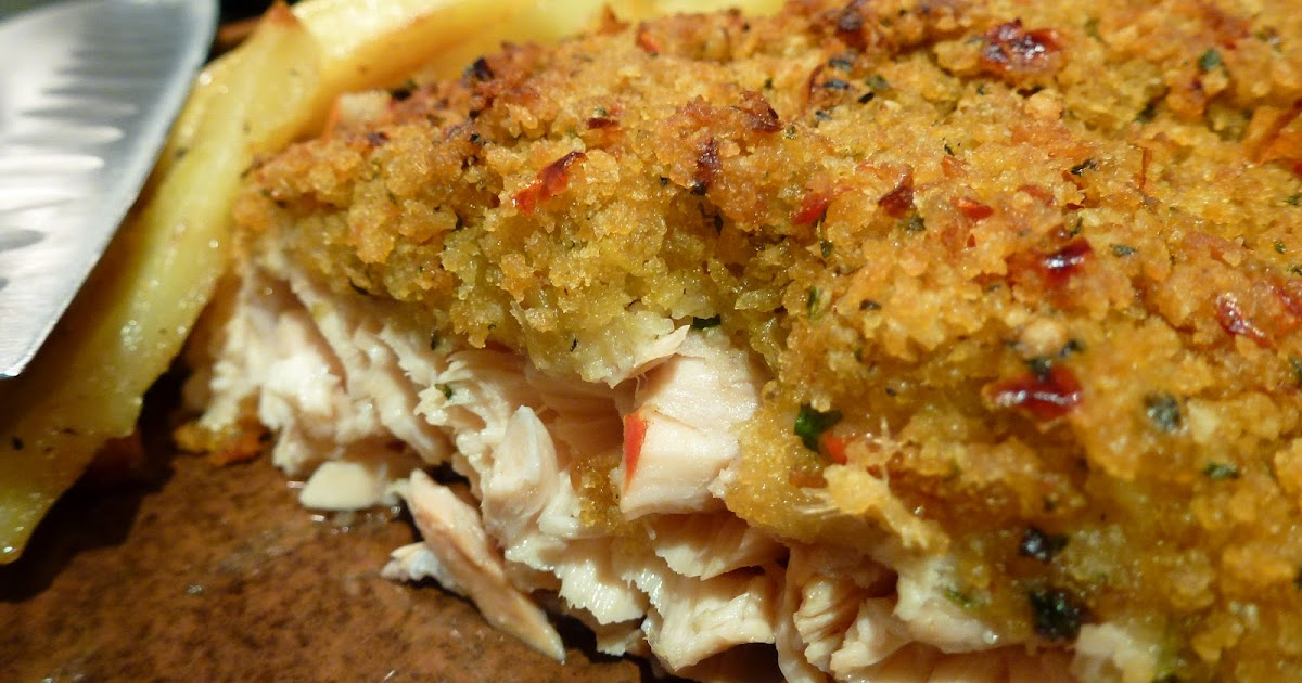 Anna's Table: Crispy Panko and Herb Crusted Salmon