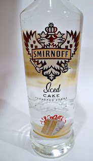 Basil Leaves 2 Jiggers of Smirnoff Iced Cake Vodka Hansen's Cherry ...