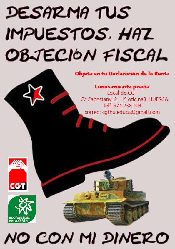 CAMPAÑA DE OBJECIÓN FISCAL.