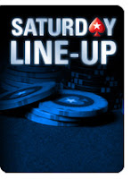 saturday line-up pokerstars
