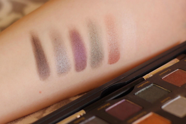 Cargo Cosmetics Let's Meet In Paris Eyeshadow Palette Swatches