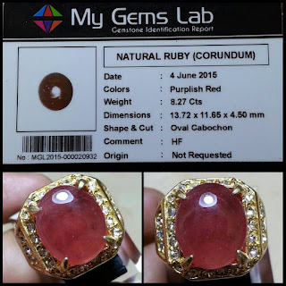 Manfaat Batu Ruby Asli