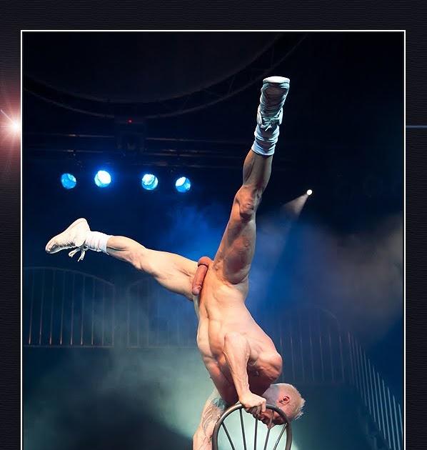 Nude acrobatic