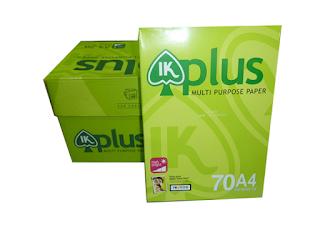 Giấy IK Plus A4 70 -80 gsm
