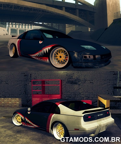 Nissan 300ZX Bad Shark
