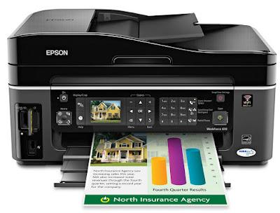 Download Driver Epson WorkForce 610
