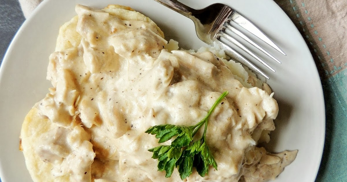 Frugal Foodie Mama: Creamed Turkey Over Biscuits