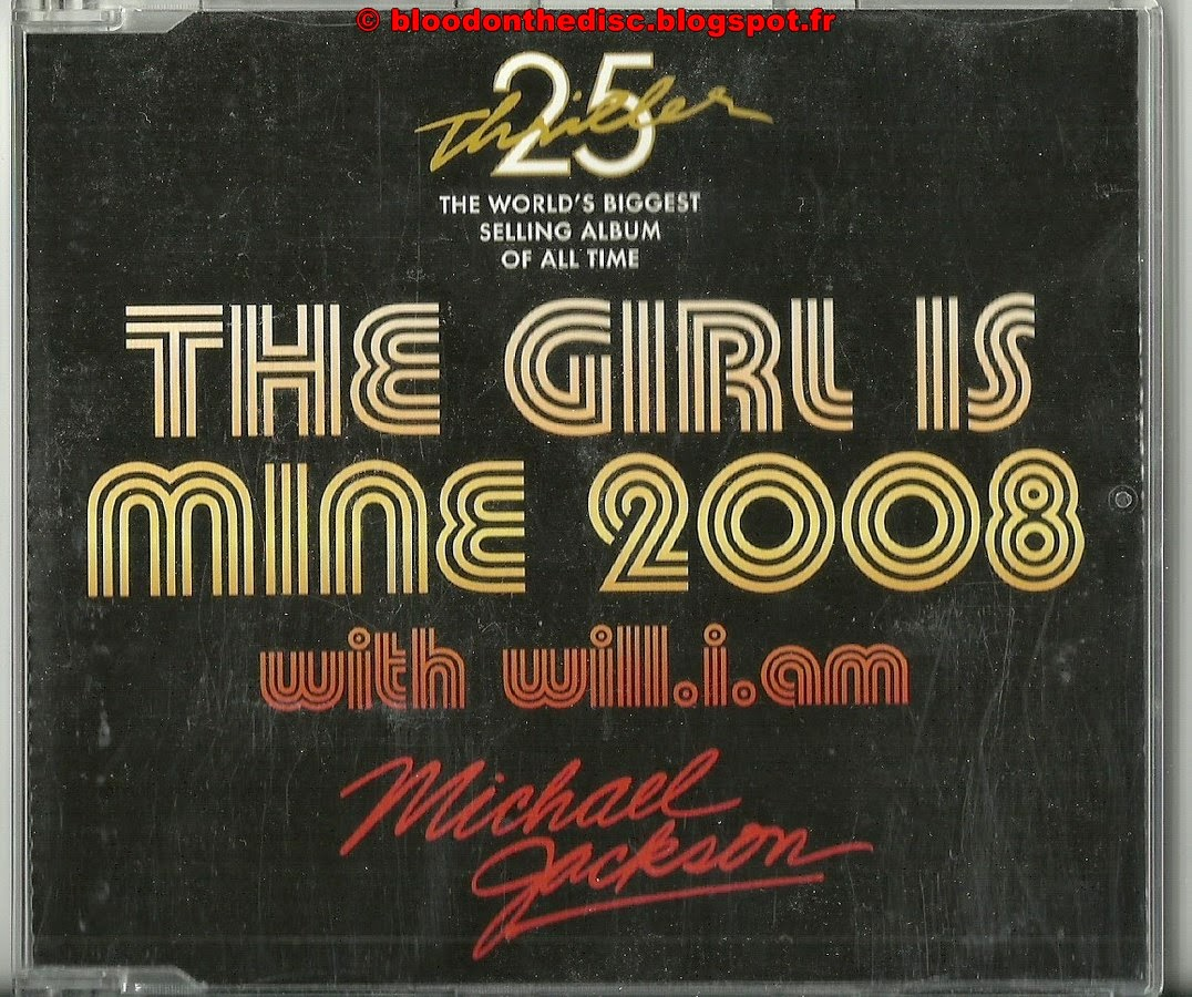 The Girl Is Mine 2008 Maxi CD Pochette