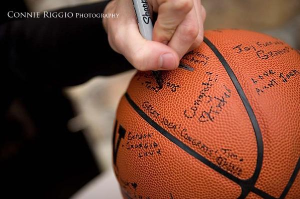 Long Dogz Mom Theme Thursday Basketball Themed Wedding Inspiration