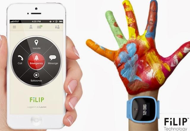 Filip smartwatch first smart locator for children