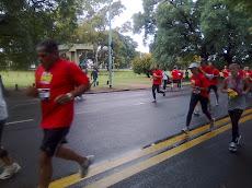 Uno de mis alumnos corriendo los 10KM