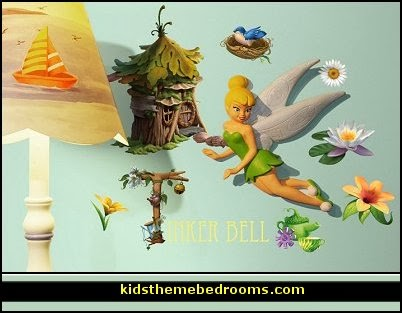 Wallables Disney Tinker Bell 3d Wall Decor