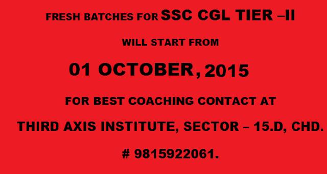 SSC cgl tier - ii