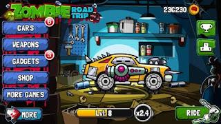 Zombie Road Trip Shop