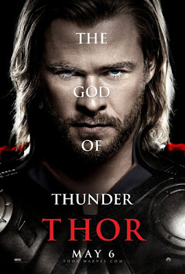 Thor Character Movie Poster Set 1 - Chris Hemsworth as Thor, The God of Thunder