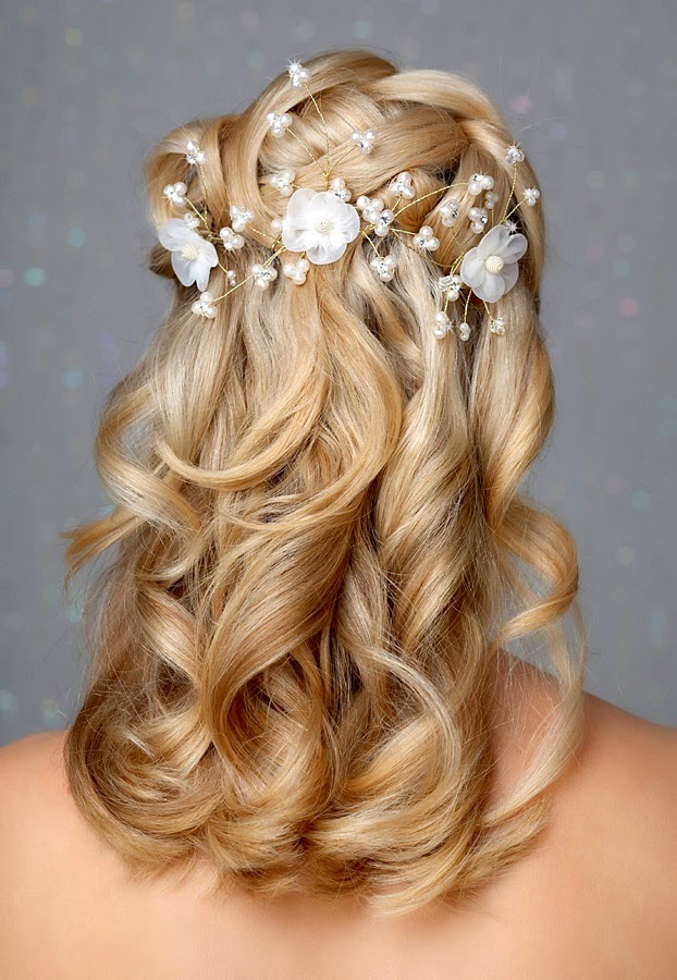 Wedding Hairstyles With Flowers And Hair Down