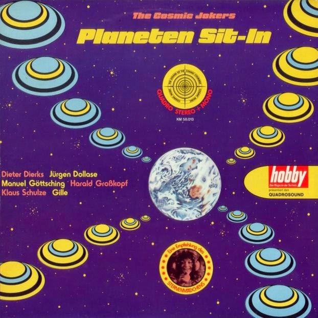Neue Dusche Planen : The Cosmic Jokers – Planeten Sit-In (1974)