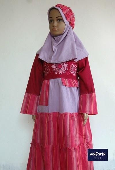 Grosir Baju Muslim Anak Busana Muslim Anak Gamis Anak