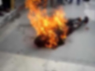 Buddhist Monk Commits Suicide By Fire