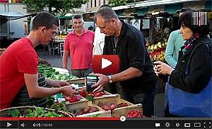L'Agora des Chefs dans le jardin d'Eden du marché de Vienne!