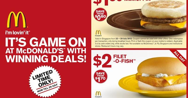 Foodiefc mcdonald 39 s singapore sausage mcmuffin 2 for Filet o fish deal