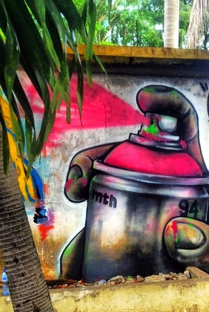 Haitianarts murales quartier colonial S.Domingo