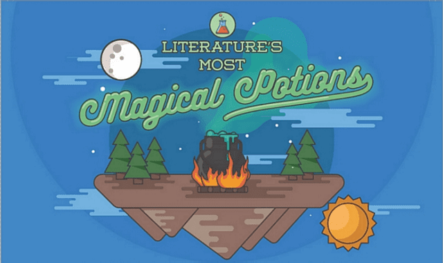 Literature's most magical potions