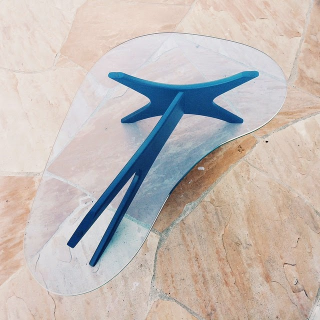 #thriftscorethursday Week 33 | Instagram user: futuristichuman shows off this Retro Table