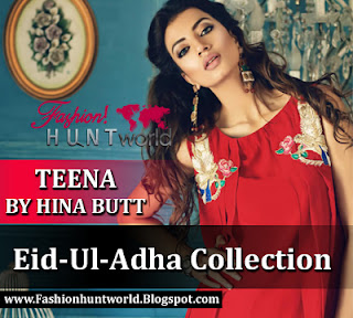 Teena By Hina Butt Eid-Ul-Adha Collection 2015