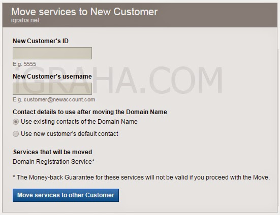 memindahkan domain menggunakan cpanel domain
