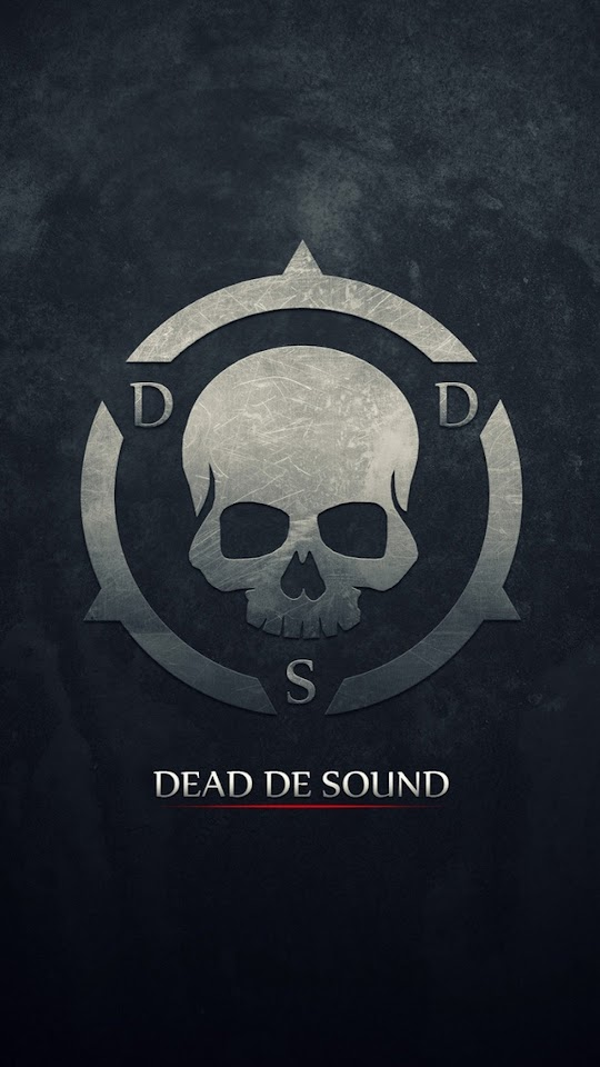 Dead De Sound Skull   Galaxy Note HD Wallpaper