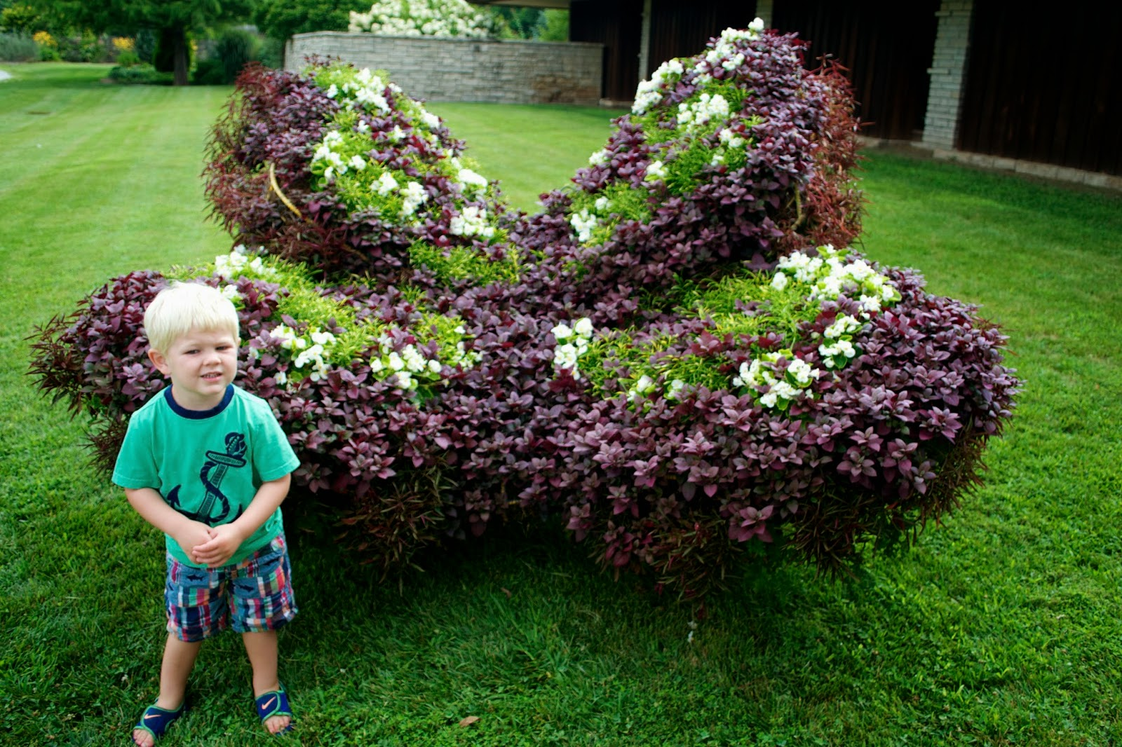 Lucky For Marcus And Me, Marcusu0027 Grandparents Know Of My Love Affair With  Butterflies. While We Were Visiting We Took A Trip To The Powell Gardens,  ...