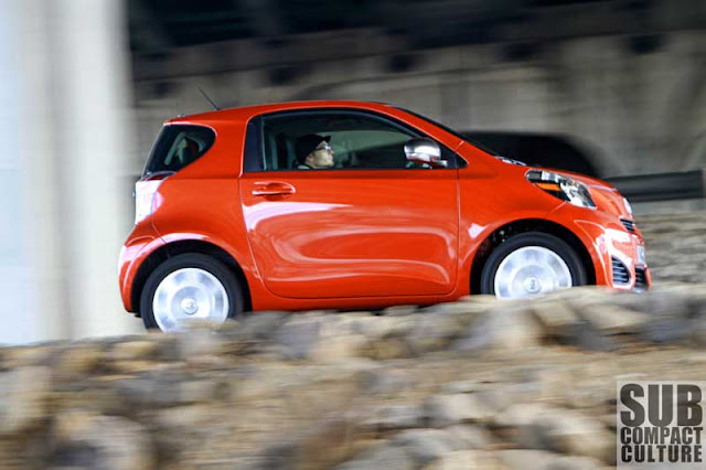 2012 Scion iQ driving - Subcompact Culture