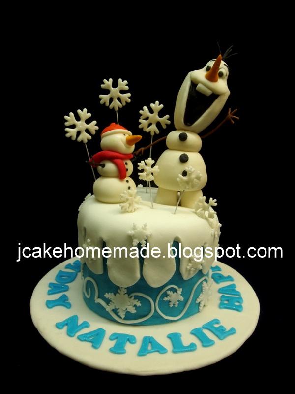 Cake Art Decor Zeitschrift Abo : Jcakehomemade: Olaf birthday cake?????