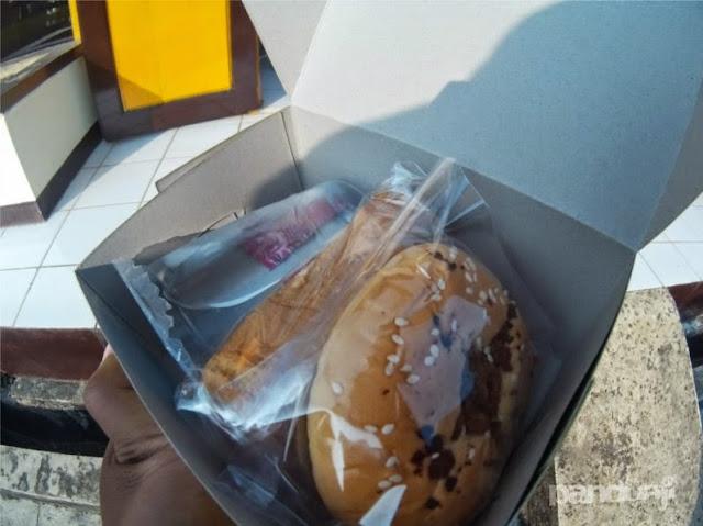 Snack di perjalanan udara Karimunjawa