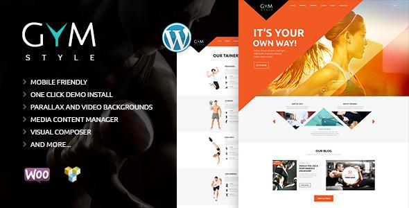 download GYM | Sport & Fitness Club WordPress Theme