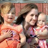 Kerri & her two girls